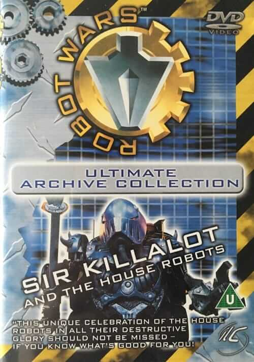Robot Wars Ultimate Warrior Collection - Sir Killalot and the House Robots DVD