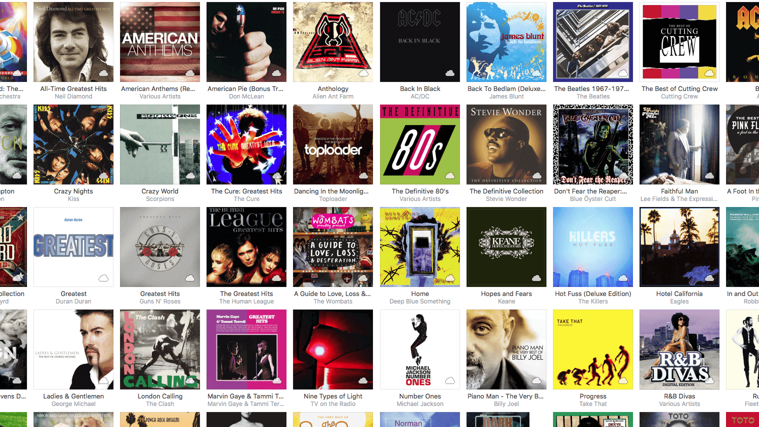 How to restore missing iTunes artwork