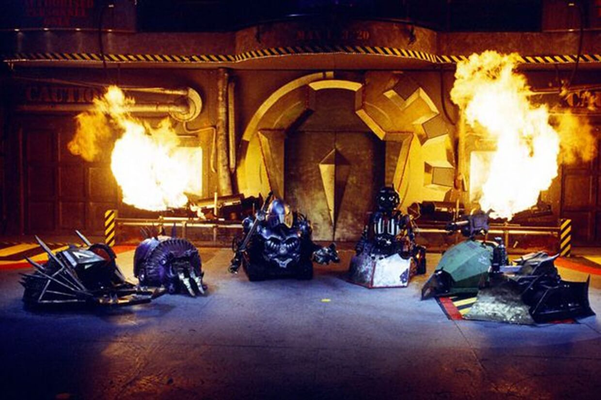 The iconic Robot Wars House Robots