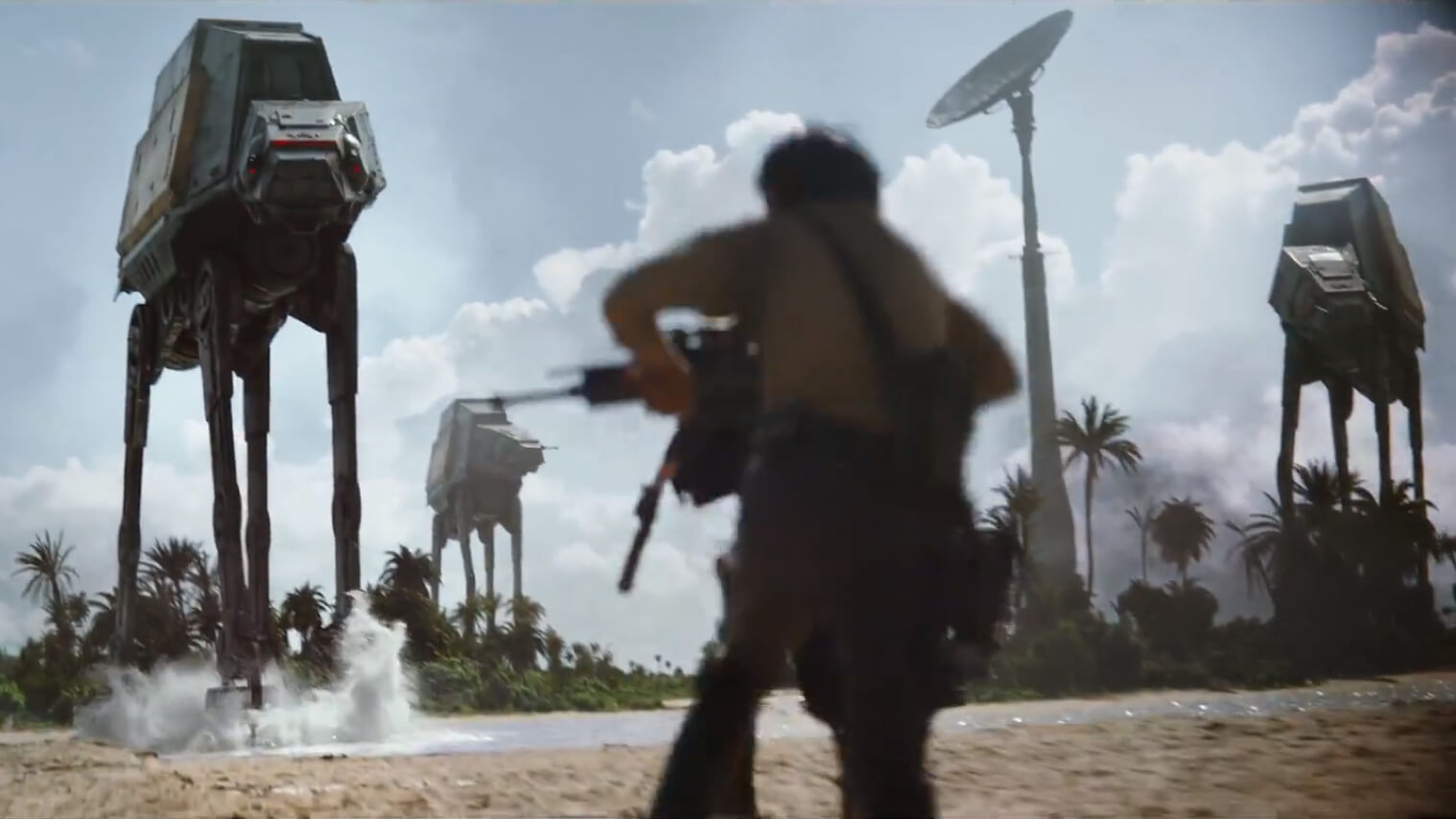 Star Wars: Rogue One official teaser trailer released